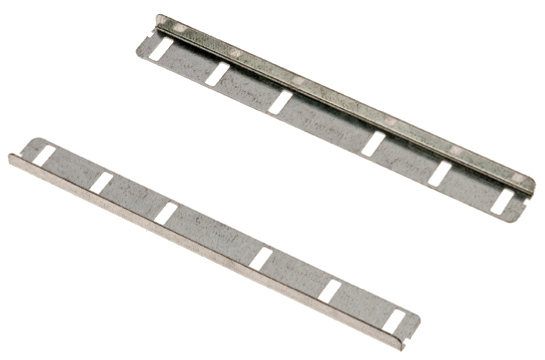 Light Duty System - Straight Coupler- (pair)