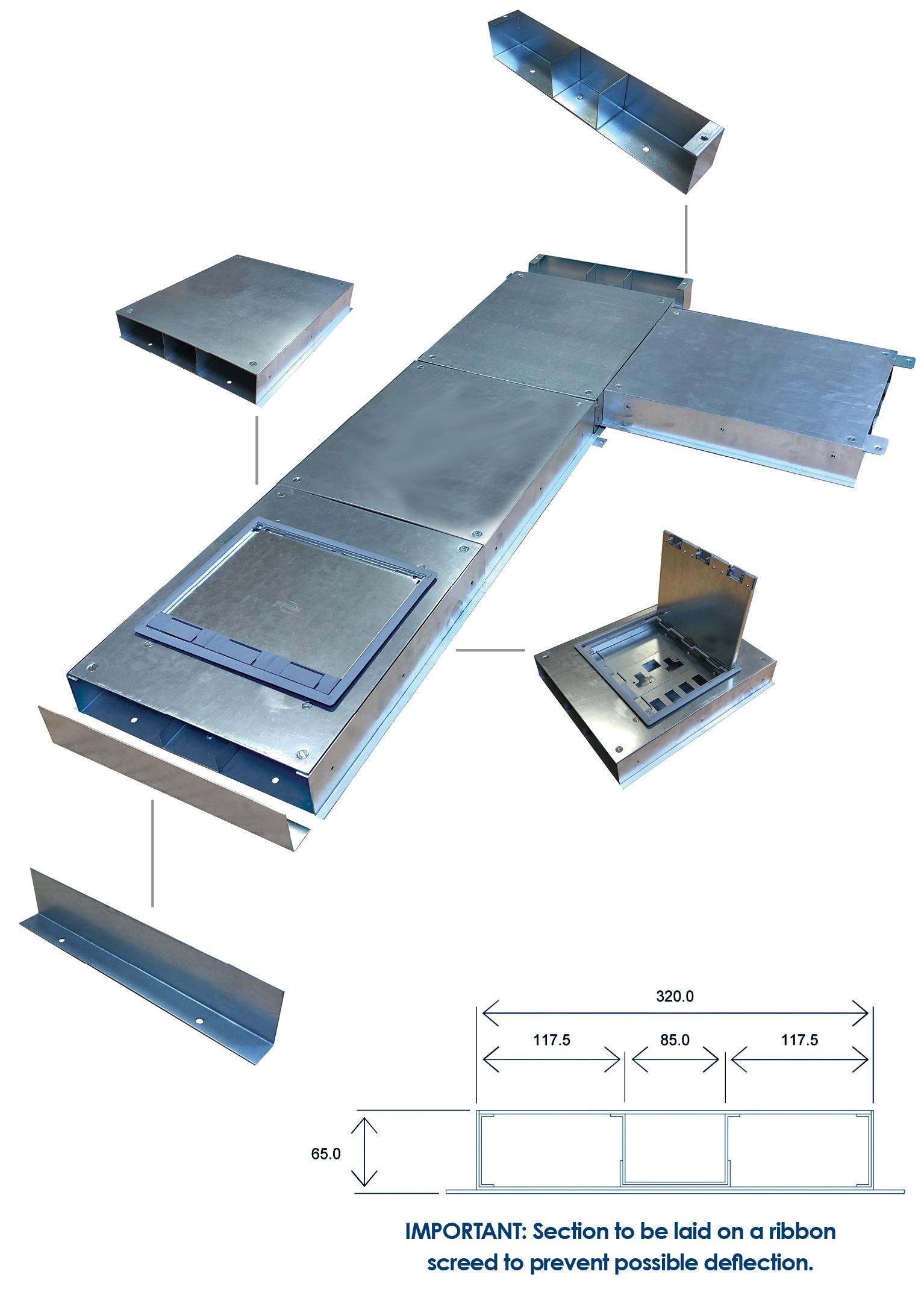 Modular Flush Floor