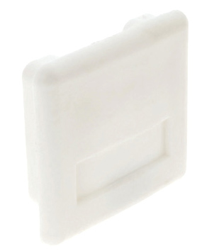 PVC End Caps (White & Black) Deep & Shallow