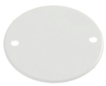 White Plastic Conduit Box Lids