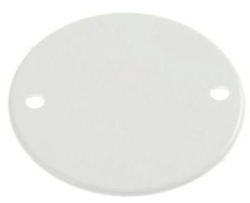White Plastic Conduit Box Lids
