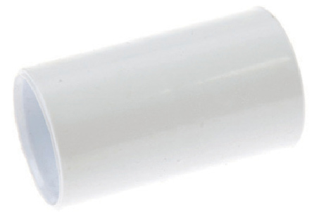 White Plastic Conduit Couplers
