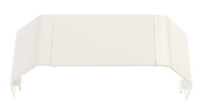 White Plastic Dado Joint Cover